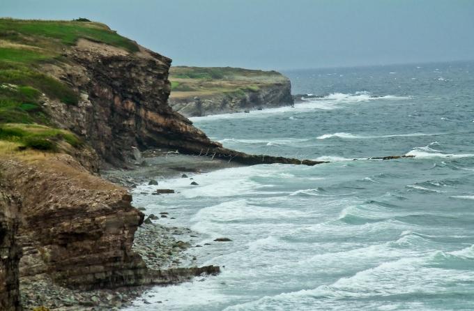 Cliffs of Felix Cove, N.L.