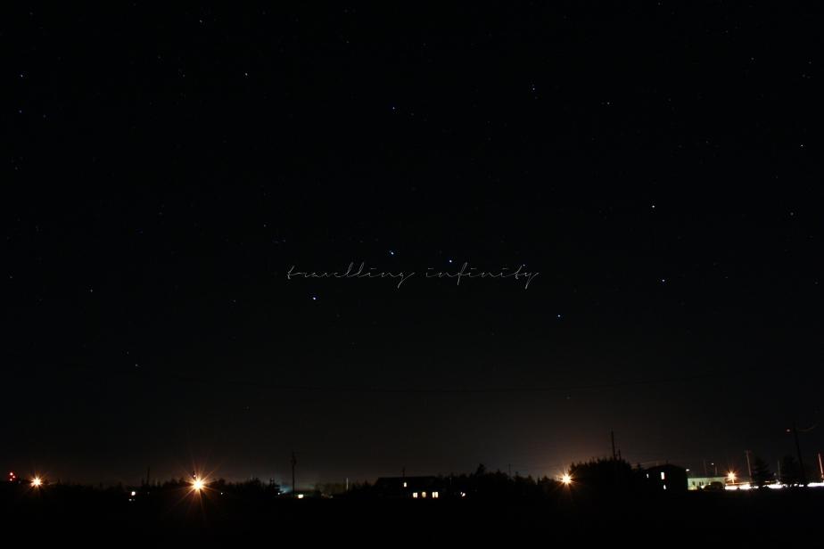 Xing at night