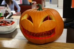 2010 Pumpkin carving contest at CNA.. 3rd place