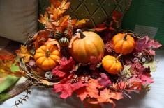 2009 Pumpkin arrangement, lol