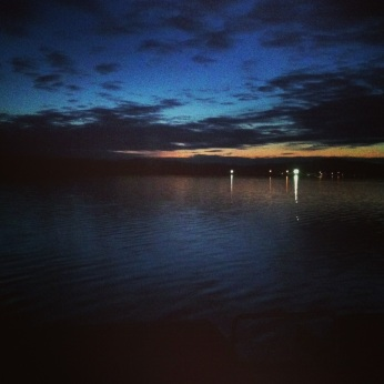 Night View from Terrington Basin