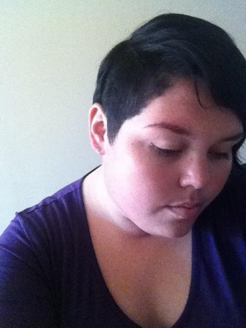 I got my hair cut today..highlight of the weekend so far!