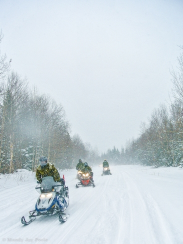 Grand River Snowmobile Club trail system