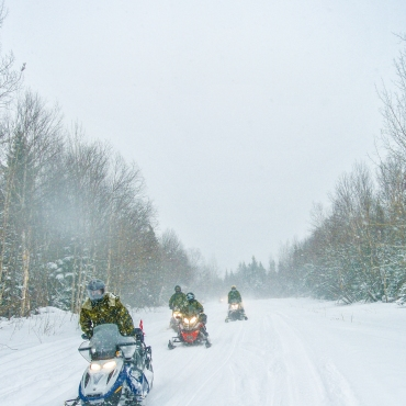 Grand River Snowmobile Club trail system
