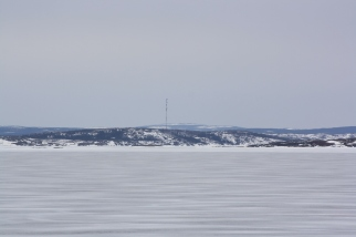 Looking toward Mary's Harbour.