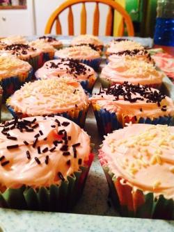 Cupcakes... perfecto.