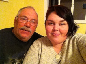 Dad and I. Heart full.