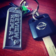 A keychain I won from this really cool Facebook page for comic fans.