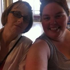 Saw my best friends mom!