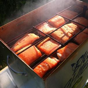 My salmon smoking