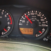 Rolled off 10,000km on my truck! Only got her April 9 haha :)
