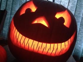 My halloween pumpkin this year
