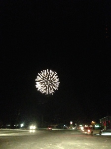 Random fireworks on my drive down town
