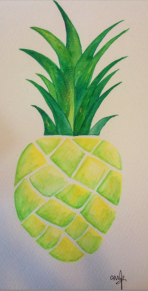 You're the pine-apple of my eye.