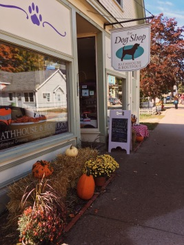 The Dog Shop in Mahone Bay