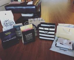 My shopping haul, day 1