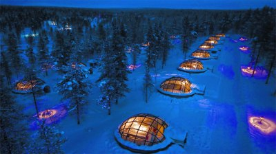 Kakslauttanen, Finland.