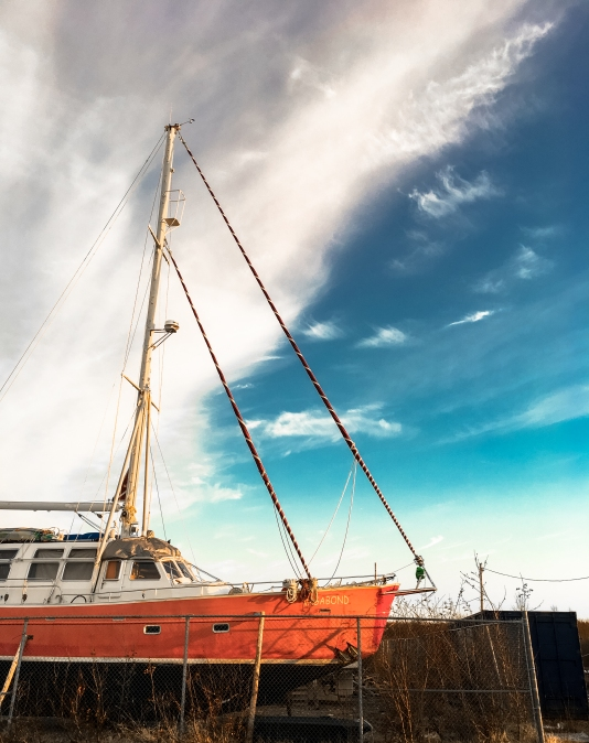 Vagabond boat