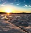 Basin sunset