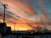 Sunset on Ottawa Street