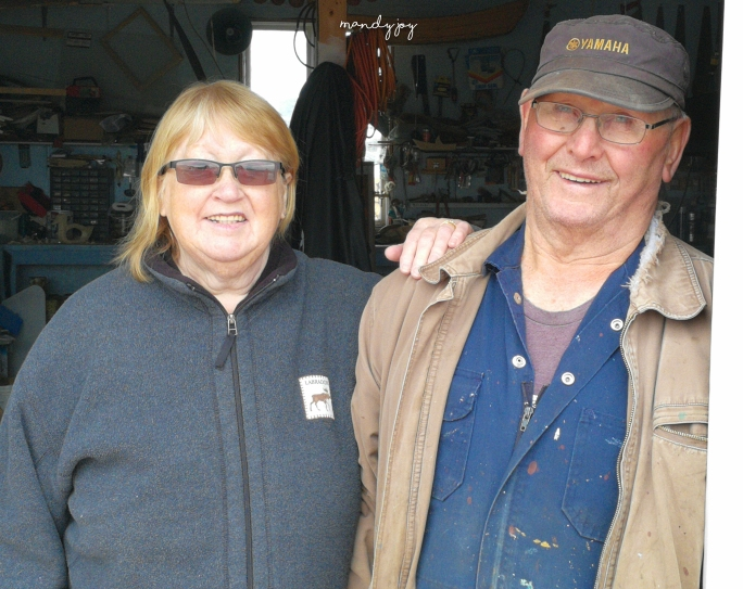 Nan and Pop Hillyard