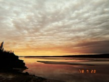 Those Goose Bay sunsets though..