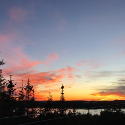 Typical evening views in St. Lewis
