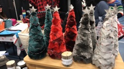 Sealskin trees at the Christmas Craft Fair