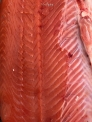 NO editing on this, besides my watermark. Red, red Atlantic Salmon.