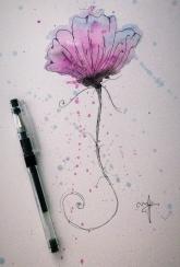 Watercolored