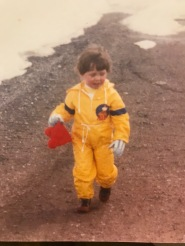 Me rockin' my ALF suit
